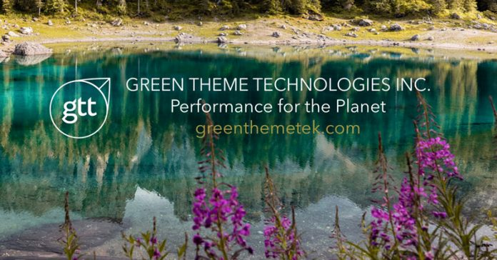 Green Theme Technologies Raises $3.5 Million At First Close Of Series B Financing